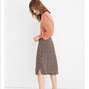 New Madewell button up skirt 0
